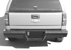 HD REAR BUMPERS 14-18 SILVERADO/SIERRA 1500