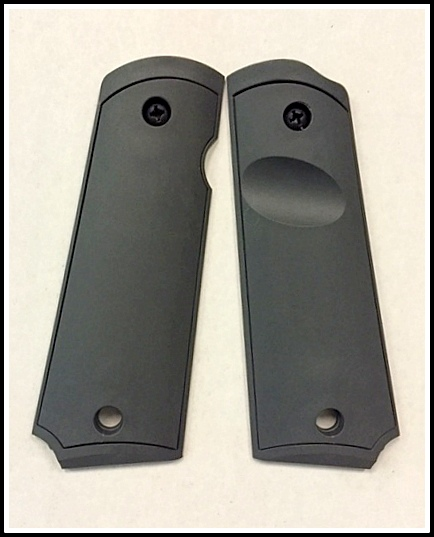 1911 GRIP PANELS -SMOOTH INLAY