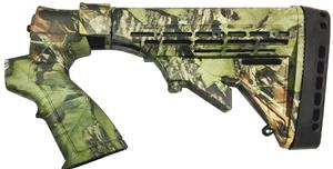 KickLite recoil reduction 6 position shotgun stock for Mossberg® 500 12/20 Ga. in Mossy Oak® 'Obsession'