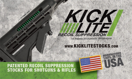 KICKLITE® RECOIL REDUCTION STOCKS