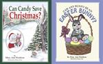 Can Any Bunny Be An Easter Bunny & Can Candy Save Christmas Set