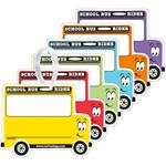 School Bus Backpack Tags - Pack of 50 - Item# 8050