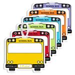 School Bus Backpack Tags - Pack of 50 - Item# 8010