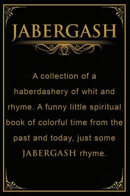 01. Jabergash Paperback Book *AVAILABLE NOW*