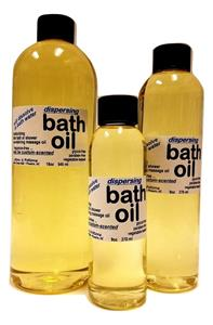 Dispersing Bath Oil Custom Scented