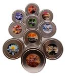 Candles, Soy Vegetable (Tins for Travel or Home)