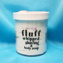 Fluff Whipped Shaving And Body Soap