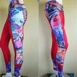Activewear Ladies Touch (Side Art) Red