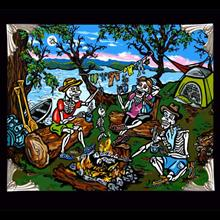 Archival Paper Art Print- Framed 'Camping Feeds My Soul'