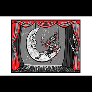 Greeting Card - 'Curtain Call'