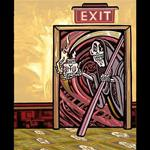 Archival Paper Print- Unframed 'Exit At Your Own Risk'