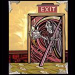 Archival Paper Art Print- Framed 'Exit At Your Own Risk'