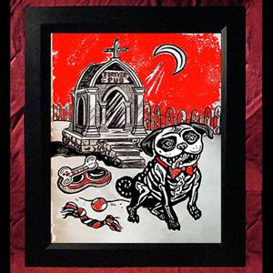 Collectors Canvas Giclee - 'Forever Pug'