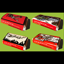 'Los Muertos' Holiday Chocolate Bars - Box of 36 - $2.95 each