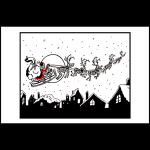 Greeting Card - 'Scary Christmas'