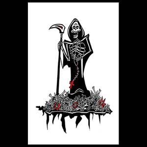 Greeting Card - 'Grimm Reaper'