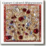 01 Garnet Embellishment Goodies