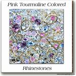 10 Pink Tourmaline Embellishment Goodies