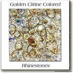 11 Golden Citrine Embellishment Goodies