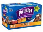 3T-4T Huggies Pull-Ups Boys Diapers - 116 Pack