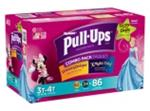 3T-4T Huggies Pull-Ups Girls Diapers - 116 Pack