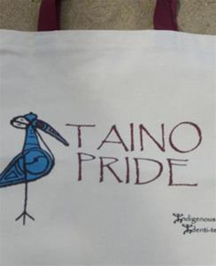 Taino Pride Bell Ringer Natural Tote