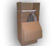 08. 24 inch hanging Wardrobe Boxes Used