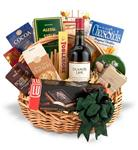 Traditional Wine and Gourmet Basket-Choose your Wine
