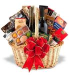 Fine Wine and Gourmet Basket-One Champagne