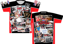 Father/Son 1st NHRA World Champions Sublimated Shirt