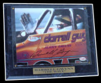 "Darrell Gwynn Autographed  ""The Wave"" Plaque"
