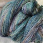Green and Rose Quickspin Roving