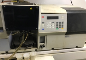 Perkin Elmer Atomic Absorption Unit Model A100