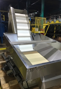 Stainless Steel Hopper/Conveyor Bin