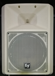 "EV WHITE 2-WAY 12"" TOP PASSIVE W/HORN Used"
