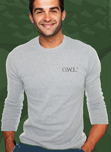 Men's/Unisex Grey with Grey Classic Owl