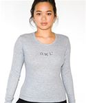 Women's Grey Tee-Large