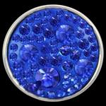 Crystal Button-Blue