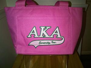 AKA Insulated Lunch Tote with Applique