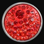 Crystal Button-Red