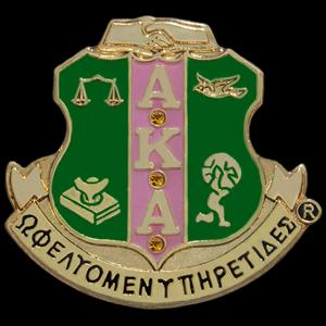Sorority Crest Lapel Pin