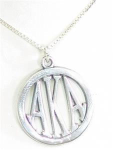 Sorority Medallion w/18 inch Chain