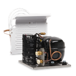 Adler Barbour DIY Refrigeration 50 Series Condensing Unit, Square Layout,12/24VDC,Air Cooled only