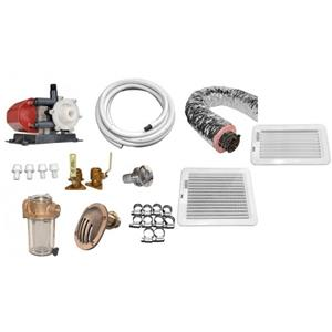 Premium A/C Installation Kit for 115/230V - ECD10,DTU10 & DTU12 - (10,000 & 12,000 BTU'S)