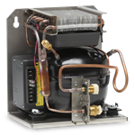 Adler Barbour DIY Refrigeration 80 Series Condensing Unit, Vertical or Wall Mount Layout,12/24VDC,Air Cooled only