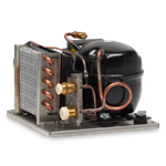 Adler Barbour DIY Refrigeration 80 Series Condensing Unit, Square Layout,12/24VDC,Air Cooled only