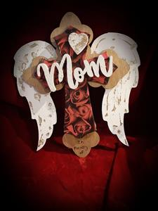 moms red roseswith wings