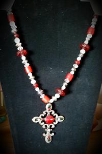 red ruby necklace