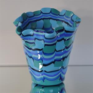 Cachepot in Blues