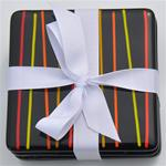 Coasters - Modern Stripe Black